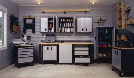 garage stauraum schaffen garagentor. Black Bedroom Furniture Sets. Home Design Ideas